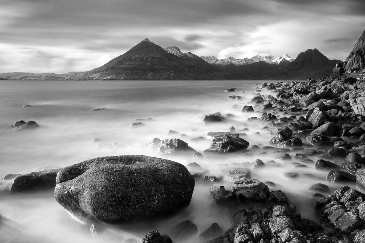 Land and Seascapes in Black and White
